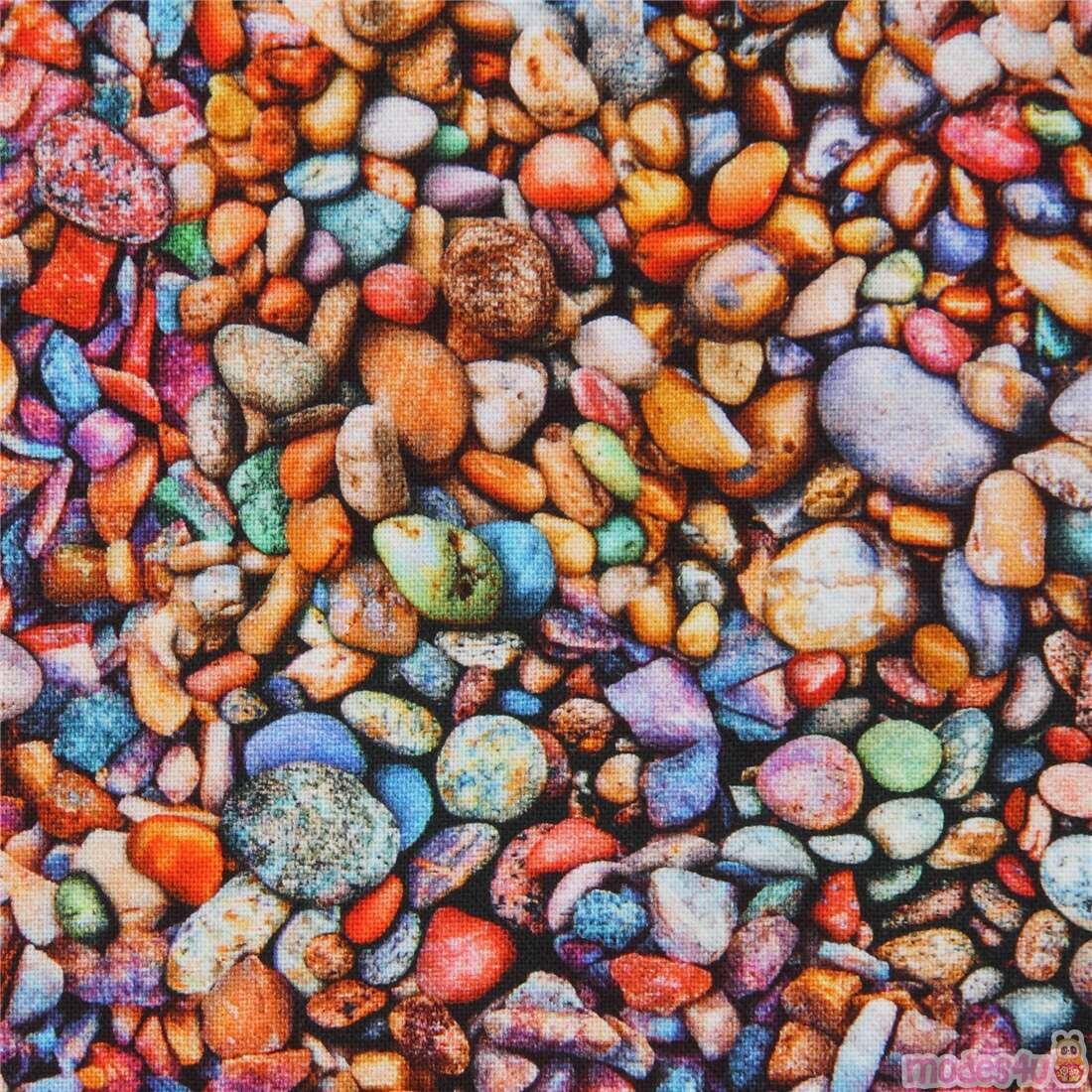 Robert Kaufman Small Colorful Pebble Fabric Modes4u