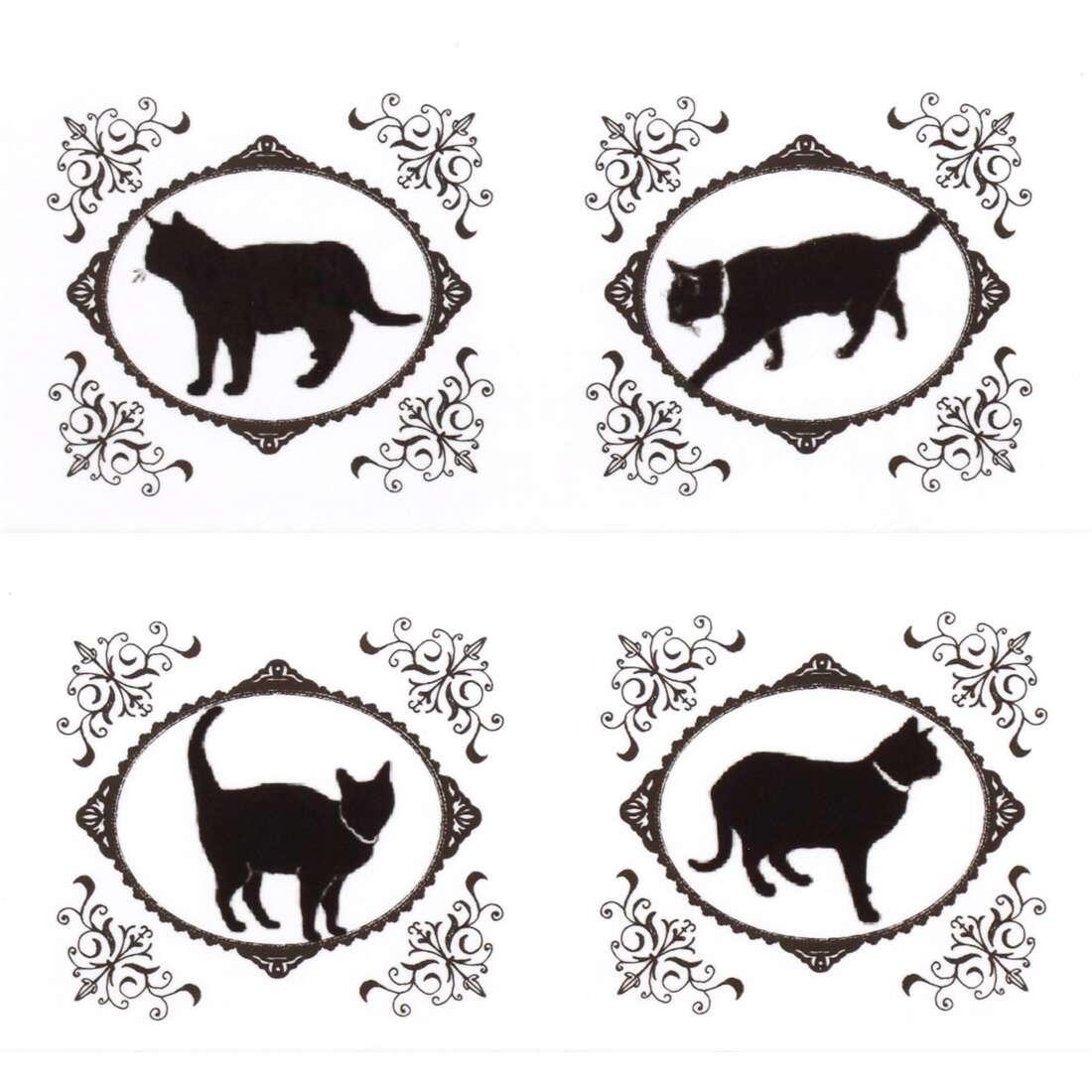 Nastro adesivo decorativo grande bianco gatti 25m nastri adesivi con animali nastri adesivi - Nastri decorativi natalizi ...