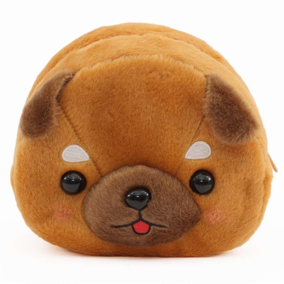 dunkelbraunes ohr brauner beutel mameshiba san kyodai hund pl schtier aus japan hunde. Black Bedroom Furniture Sets. Home Design Ideas