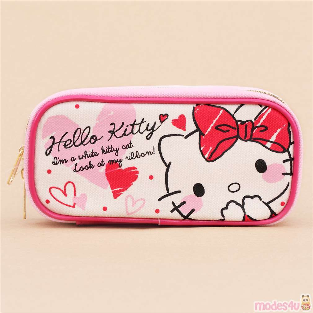 Japan Sanrio Hello Kitty Food Case Box Case Animation Character Cat Tableware