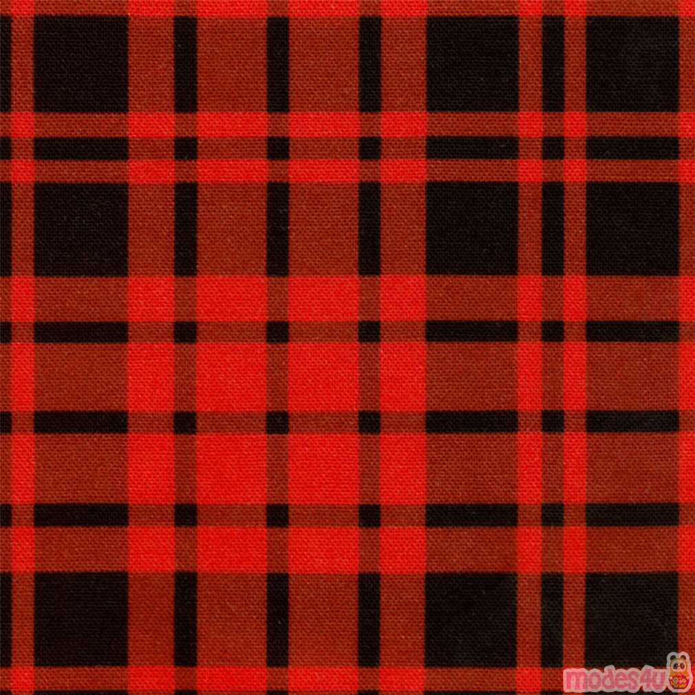 Red And Black Checkered Fabric By Robert Kaufman Modes4u