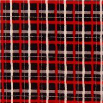 schwarzer grauer roter grauwei er silberner streifen. Black Bedroom Furniture Sets. Home Design Ideas