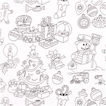 coloring fabric with christmas tree decorations snowman michael miller christmas fabric fabric kawaii shop modes4u