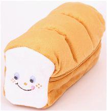 Funny toast bread plush pencil case from japan pencil cases stationery kawaii shop modes4u - Kawaii kochen ...