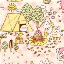 tissu am ricain kawaii des boules de riz onigiri japonaises tissus japonais tissus. Black Bedroom Furniture Sets. Home Design Ideas