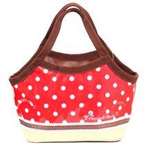 sac d jeuner kawaii rouge pois import du japon boutique kawaii modes4u. Black Bedroom Furniture Sets. Home Design Ideas