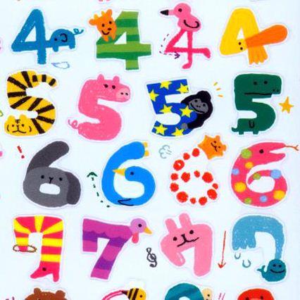 Letras Y Numeros Decorados