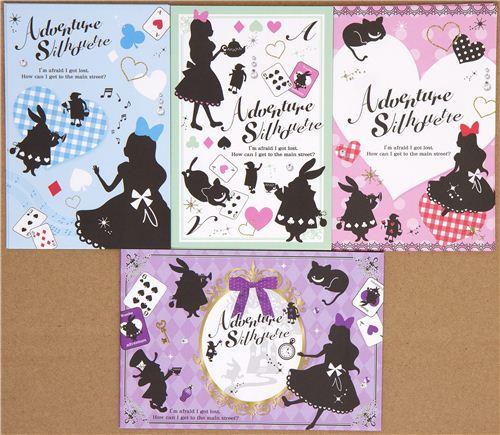 Alice in Wonderland Letter Set with photo frame - Letter Sets ...