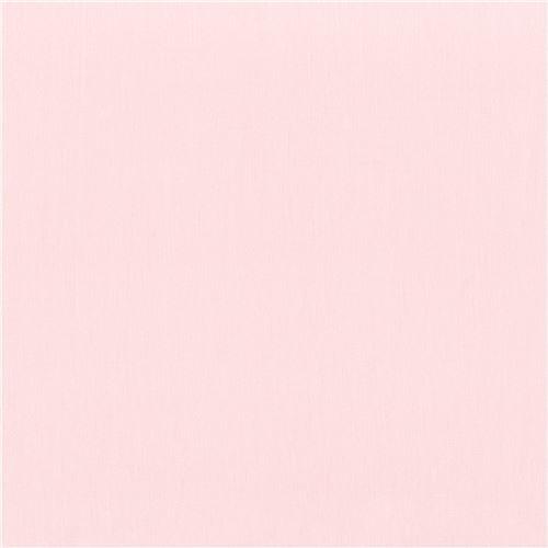 Tessuto Rosa Pallido Tinta Unita Ballet Slipper Kona Robert Kaufman Usa