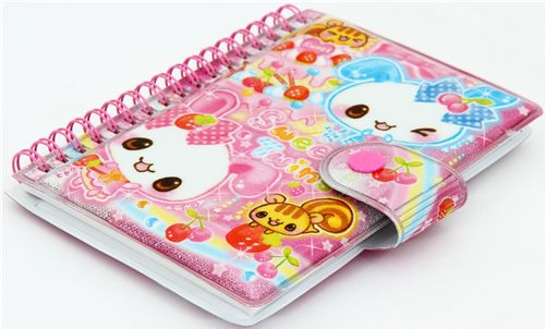 bunny sticker collection book notebook japan kawaii memo pads stationery kawaii shop modes4u. Black Bedroom Furniture Sets. Home Design Ideas
