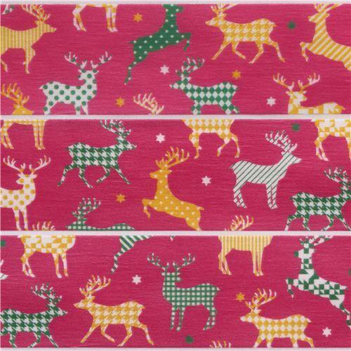 Set nastri adesivi washi natalizi 3 pz neve renne messaggi - Nastri decorativi natalizi ...