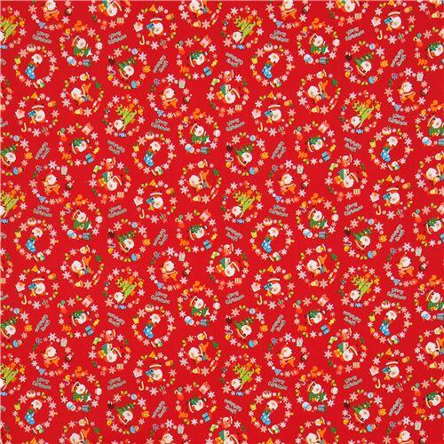 Tela decorativa estampada panal rojo niños tela por metro 0,5m