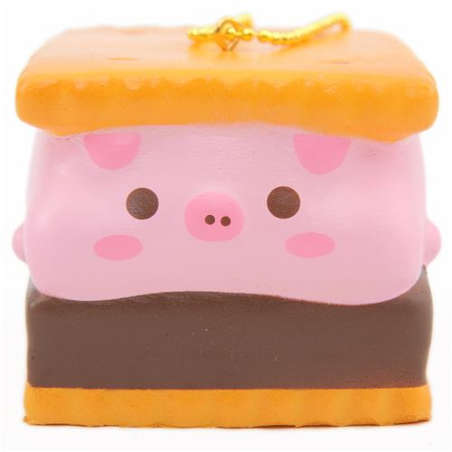 creamiicandy marshmellii boy smore biscuit squishy - food squishy - squishies
