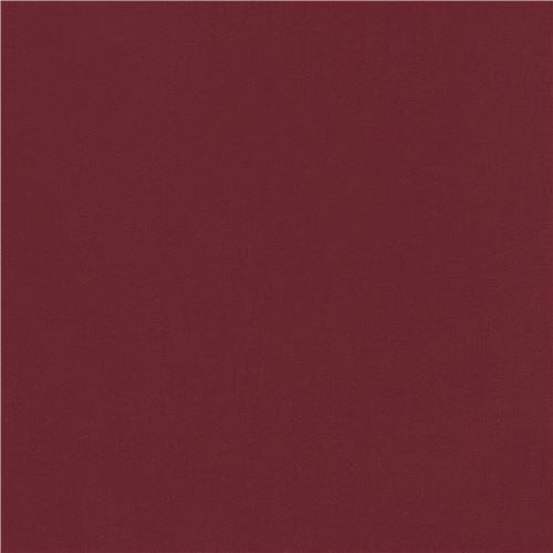 Tessuto Rosso Scuro Tinta Unita Crimson Kona Robert Kaufman Usa