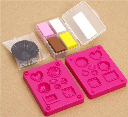 Diy eraser making kit to make yourself chocolate eraser diy sets diy clay making kit to make yourself chocolate praline 5 solutioingenieria Image collections
