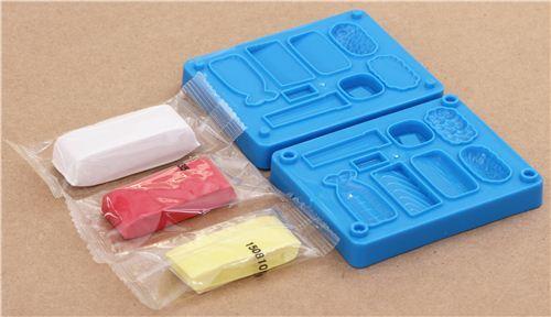 lindo kit manualidades modelado gomas de borrar en forma de sushi sets manualidades. Black Bedroom Furniture Sets. Home Design Ideas