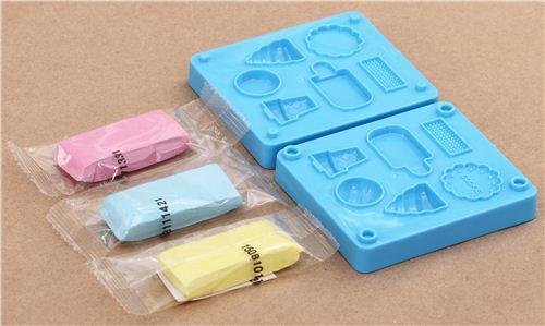 Diy eraser making kit to make yourself ice cream diy for Radiergummi selber machen