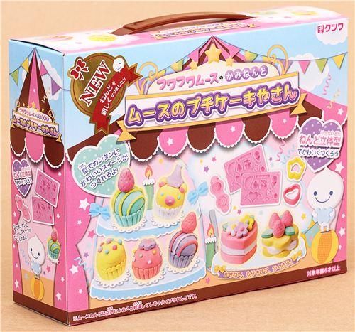 DIY Paper Mousse Clay Making Kit Birthday Cake Japan