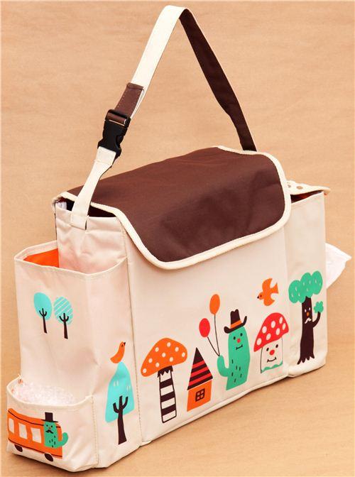 decole mushroom cactus diaper bag baby bag from japan
