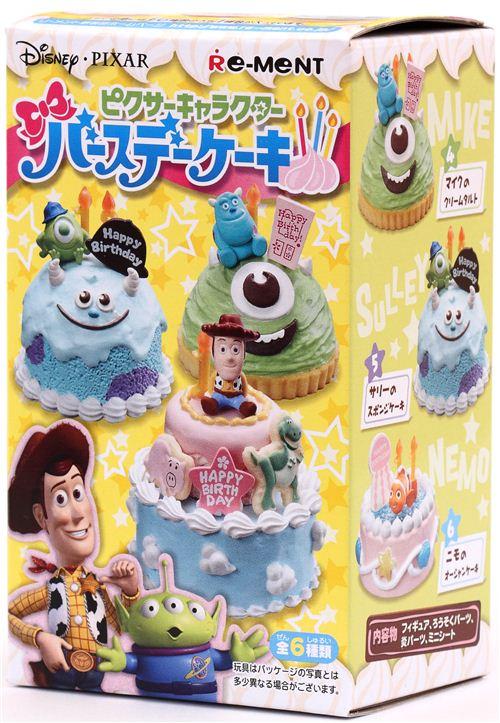 Disney Pixar Birthday Cake Re Ment Miniature Blind Box Re Ment