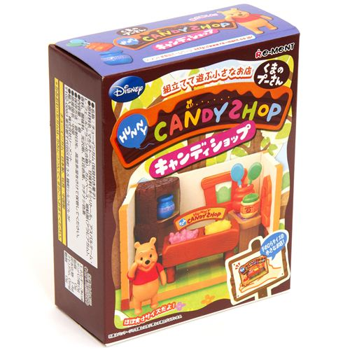 disney re ment winnie the pooh candy shop miniature box re ment miniature kawaii shop modes4u. Black Bedroom Furniture Sets. Home Design Ideas