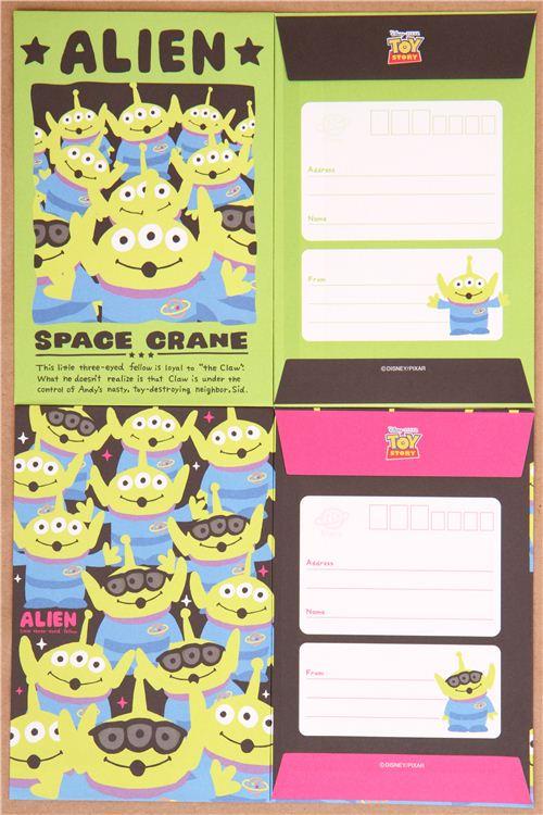 Disney Toy Story Alien Letter Set 1