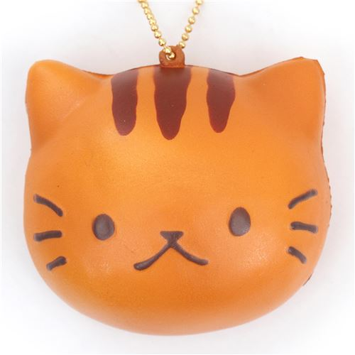 White Squishy Face Cat : Faulty - cute brown cat face bread bun squishy charm kawaii - Cheap Squishy - Squishies - Kawaii ...