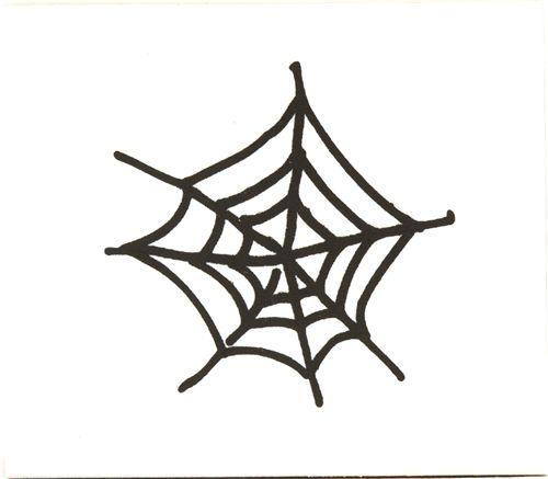 Halloween Spider Web Wooden Stamp Rubber Stamp Stamps