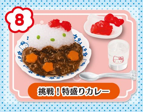 hello kitty retro diner re-ment miniature blind box, re-ment