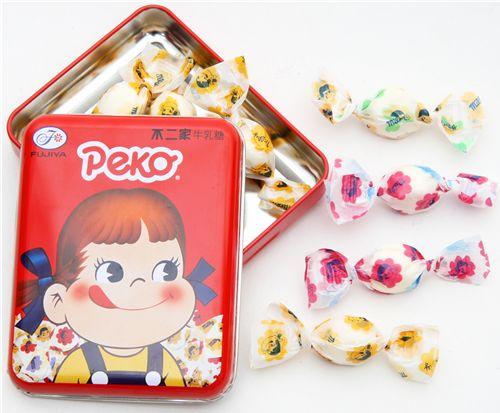 pekochan milk candy sweets snacksfood kawaii shop