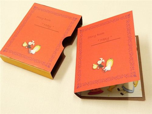 Little red riding hood diy card book 3d paper crafting kit - Como hacer un libro antiguo ...