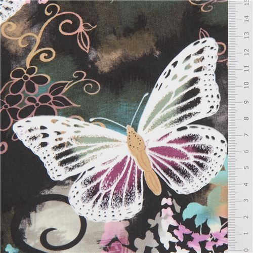 Michael Miller Fabric Filigree Flutter 100/% Cotton Multiple Sizes