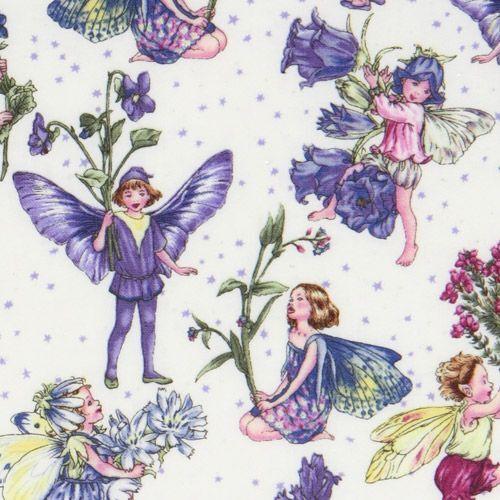Michael Miller fabric Petite Fairies flower fairy 1