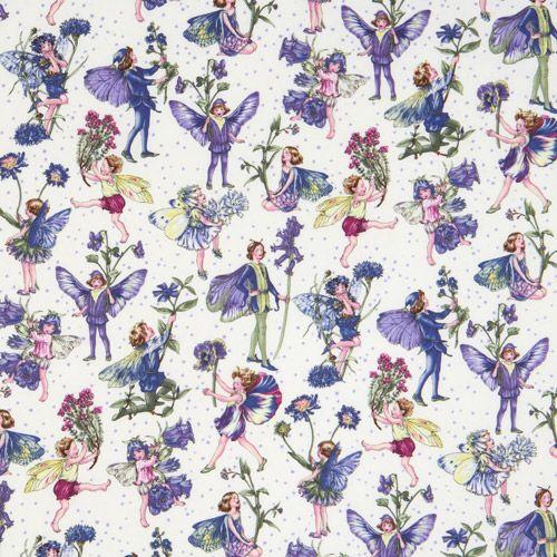Michael Miller Flower Fabric Morning Fairy Garden 500x500