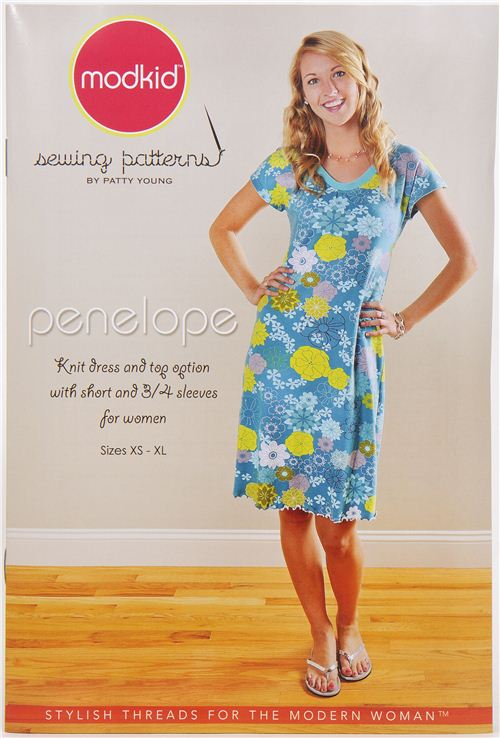 Modkid women's dress & top sewing pattern Penelope, Sewing ...