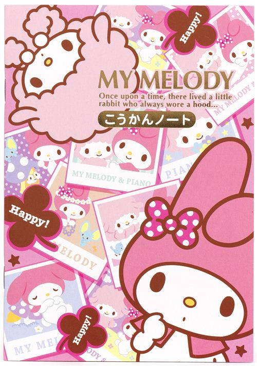 My Melody with photos notepad for friends diary - Memo