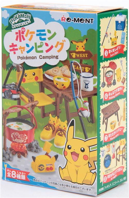 Pokemon Pikachu Camping Re Ment Miniature Blind Box Re