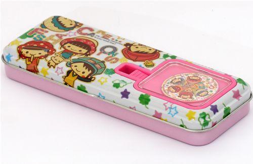 Pool Cool Pencil Case Girls With Glitter Kawaii Japan
