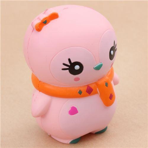 Squishy Terslow Di Dunia : cute pink baby winter penguin scented squishy kawaii KSI - Animal Squishy - Squishies - Kawaii ...