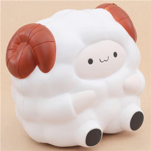 Adams Squishy Animals : cute white Jumbo Pop Pop Sheep Pat Pat Zoo squishy kawaii - Animal Squishy - Squishies - Kawaii ...