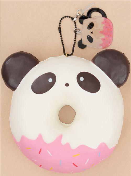 Ibloom Donut Squishy : Puni Maru panda with dark brown ear donut squishy by Puni Maru - Puni Maru Squishies - Squishies ...