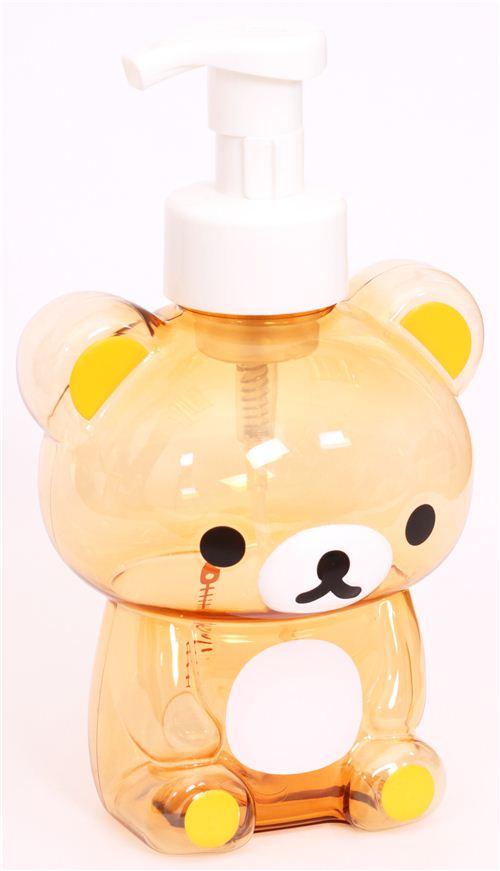 Rilakkuma Brown Bear Shampoo Bottle Soap Dispenser Other