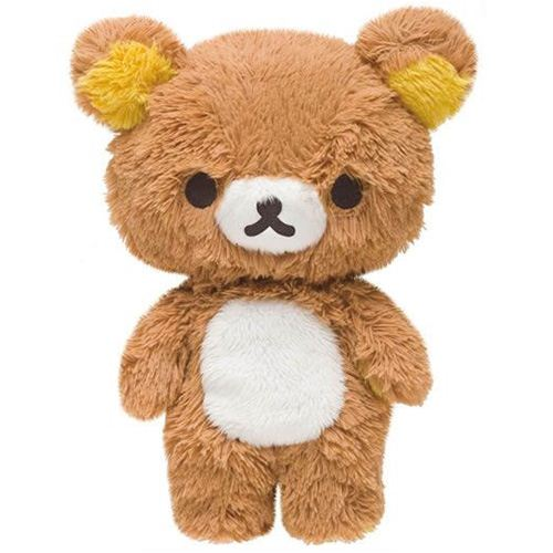 Japanese Plush Toys : Rilakkuma brown teddy bear plush toy by san