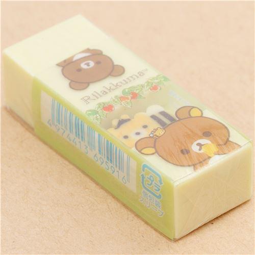 San-x Sum Rilakkuma two eraser NEW