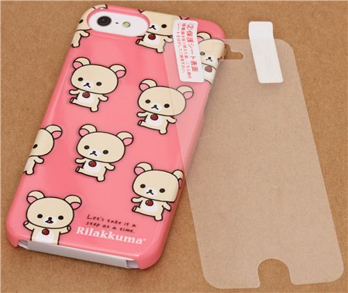 kawaii iphone 5 case pink rilakkuma iphone 5 5s cover from 1357