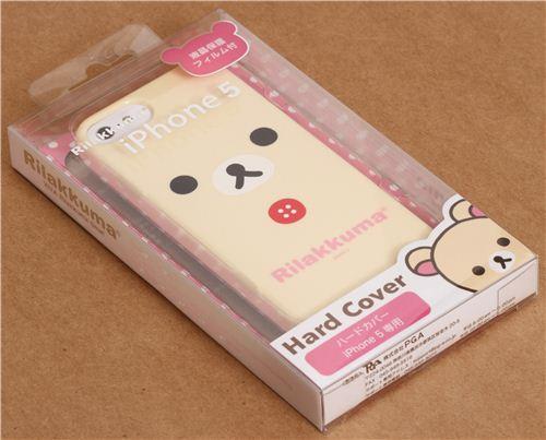 Iphone Cover Dal Giappone : Custodia rigida iphone s orso bianco rilakkuma dal