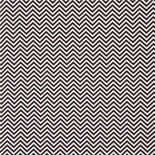 Robert kaufman thin zig zag chevron fabric black white remix 2
