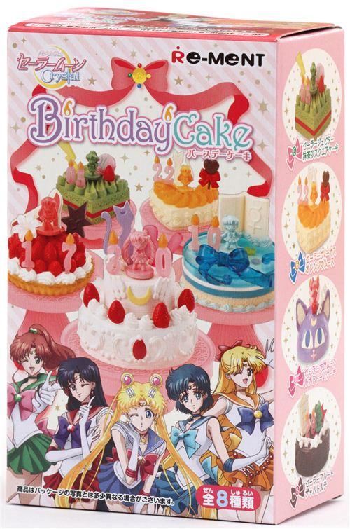 Sailor Moon Geburtstagstorte Kuchen Re Ment 220 Berraschungs