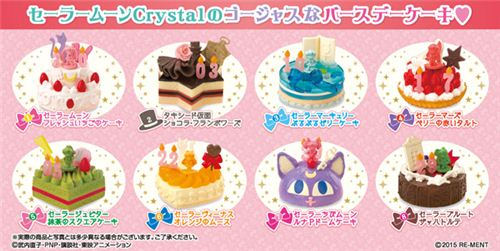 Fantastic Sailor Moon Birthday Cake Dessert Candy Re Ment Miniature Blind Personalised Birthday Cards Paralily Jamesorg