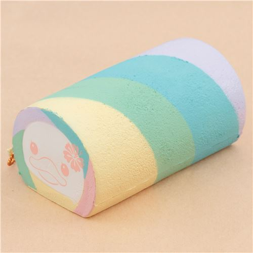 Pastel Cakes Squishy Tag : Sammy the Patissier cute colorful pastel color roll cake squishy charm kawaii - Food Squishy ...